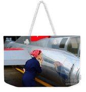 Rosie The Riveter Weekender Tote Bag