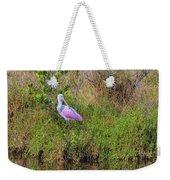 Rosie The Spoonbill Weekender Tote Bag