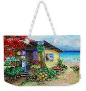 Rosies Beach Cafe Weekender Tote Bag