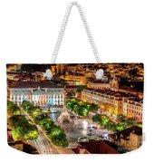 Rossio Square Night Weekender Tote Bag