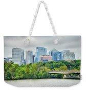 Rosslyn Distric Arlington Skyline Across River From Washington D Weekender Tote Bag
