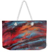 Rosy Glow Weekender Tote Bag
