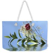 Rosy Reflection  Weekender Tote Bag