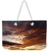 Rosy Sky Weekender Tote Bag