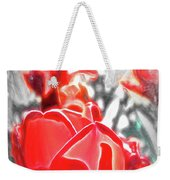 Rosy Swirl Weekender Tote Bag