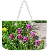 Rosy Wildflowers Weekender Tote Bag
