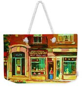 Rothchilds Jewellers On Park Avenue Weekender Tote Bag