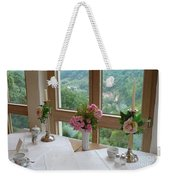 Rothenburg Dining With A View Weekender Tote Bag