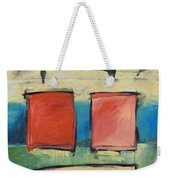 Rothko Meets Hitchcock Weekender Tote Bag