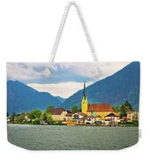 Rottach Egern On Tegernsee Architecture And Nature View Weekender Tote Bag