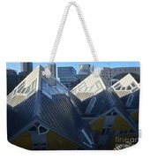 Rotterdam - The Cube Houses And Skyline Weekender Tote Bag