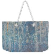 Rouen Cathedral, The Portal, Morning Light Weekender Tote Bag
