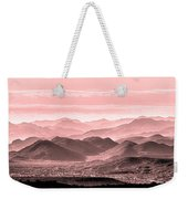 Rouge Hills Of The Tonto Weekender Tote Bag