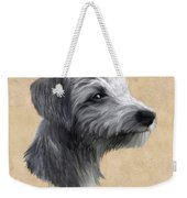Rough Coated Lurcher  Weekender Tote Bag