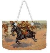 Rough Riders Cavalry Weekender Tote Bag