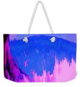 Rough Seas In Dominica Weekender Tote Bag