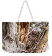 Rough Tree Weekender Tote Bag