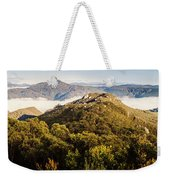 Round Mountain Lookout Weekender Tote Bag