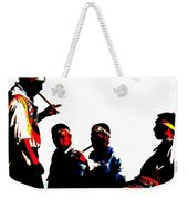 Round Sounds Weekender Tote Bag
