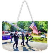 Round Top Vol. Fire Co. Inc. New York 1 Weekender Tote Bag