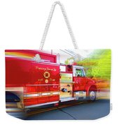 Round Top Vol. Fire Co. Inc. New York 7 Weekender Tote Bag