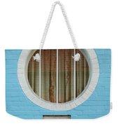 Round Window Weekender Tote Bag