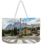 Roundabout Cortina D'ampezzo  Weekender Tote Bag
