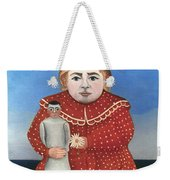 Rousseau: Child/doll, C1906 Weekender Tote Bag