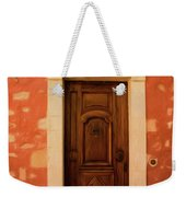 Roussillon Red And Door Weekender Tote Bag