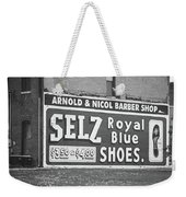 Route 66 - Chenoa Illinois Mural Weekender Tote Bag