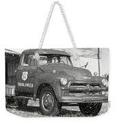 Route 66 Chevy Tumbleweed - #5 Weekender Tote Bag