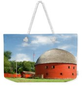 Route 66 Round Barn Weekender Tote Bag