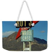 Route 66 - Roy's Of Amboy California 2 Weekender Tote Bag
