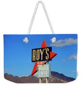 Route 66 - Roy's Of Amboy California Weekender Tote Bag