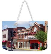 Route 66 Theater Weekender Tote Bag