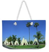 Route 66 - Wigwam Motel 4 Weekender Tote Bag