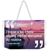 Routine Weekender Tote Bag