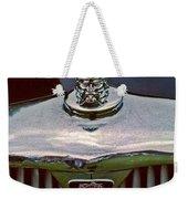 Rover Radiator And Hood Ornament Weekender Tote Bag