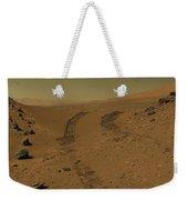 Roving Across Mars 2 - Mars Light Weekender Tote Bag