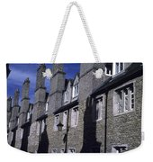 Row Houses Stand Huddled Together Weekender Tote Bag