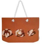 Row Of Cotton Weekender Tote Bag