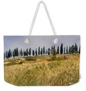 Row Of Cypress Trees, Tuscany Weekender Tote Bag