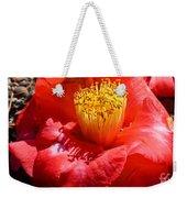 Row Of Flowers Weekender Tote Bag