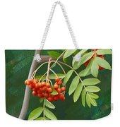 Rowan Tree Weekender Tote Bag