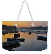 Rowboats At Rest Weekender Tote Bag