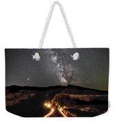 Rowena Milky Way Weekender Tote Bag