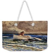 Rowing At Prouts Neck Weekender Tote Bag