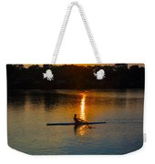 Rowing At Sunset 2 Weekender Tote Bag