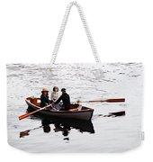 Rowing Boat Weekender Tote Bag