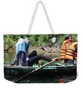 Rowing Boat With Legs, Tam Coc  Weekender Tote Bag